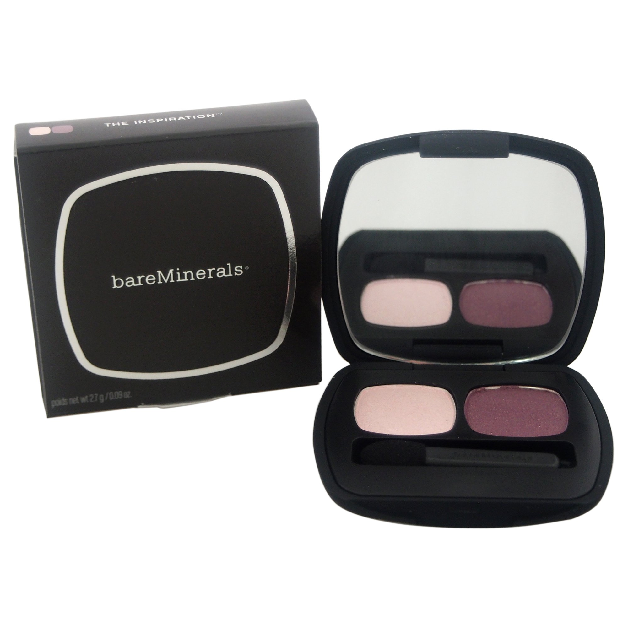 bareMinerals Ready 2.0 Duo The Inspiration Eyeshadow for Women, 0.09 Ounce