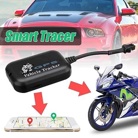 Amazon.com: Mini Vehicle GPS Tracker Car Motorcycle Rear ...