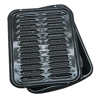 Range Kleen BP102X Porcelain Broiler Pan
