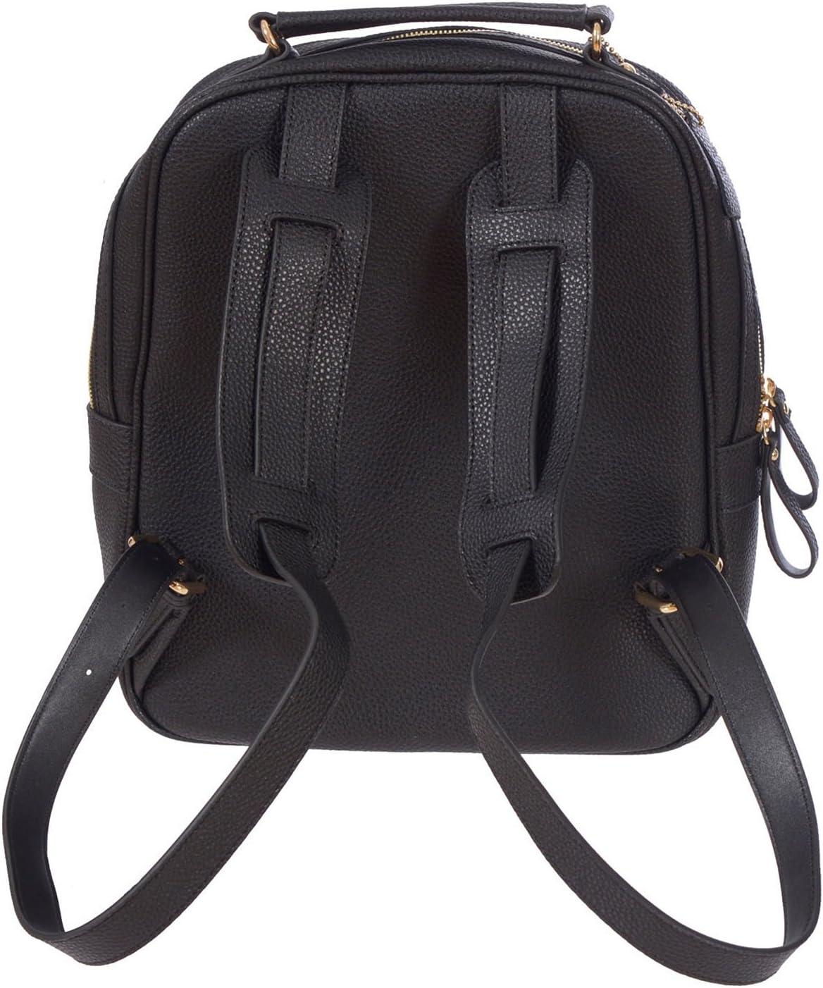 Renwick Leather Backpack Black