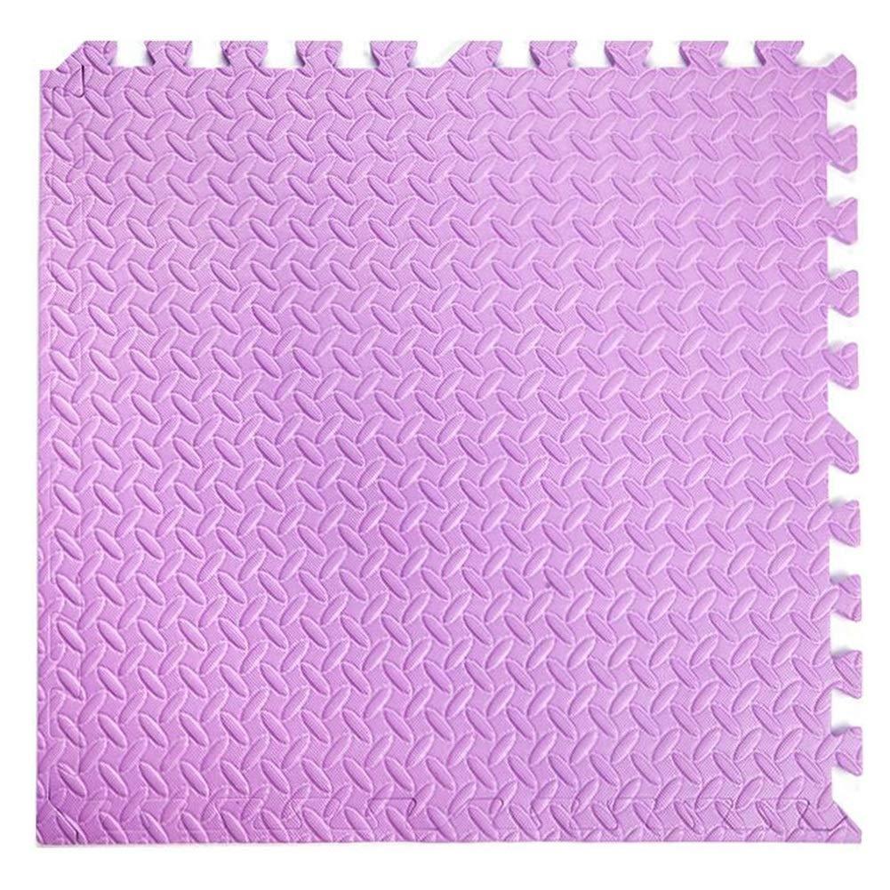 precio al por mayor púrpura 6pcs-60x60X2.5cm WHAIYAO Alfombra Puzle Juego De Rompecabezas Rompecabezas Rompecabezas for Niños Más Grueso Costura Libertad Dormitorio Sala De Deportes Taekwondo, 9 Colors, 2 Tallas (Color   B, Talla   15pcs-60X60X2.5cm)  en venta en línea