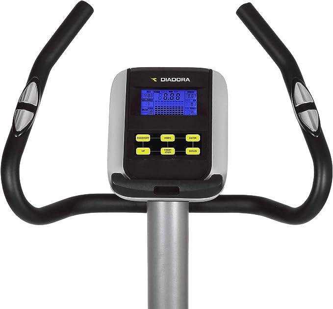 Cyclette Diadora Lotus con Hand Pulse, 15 programas de Entrenamiento, Soporte Tablet: Amazon.es: Deportes y aire libre