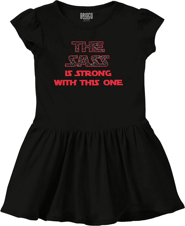 Sass Strong This One Nerd Attitude Sci-Fi Skirt Dress