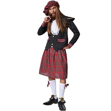 dressforfun 900424 - Disfraz de Hombre Noble Escocés ...