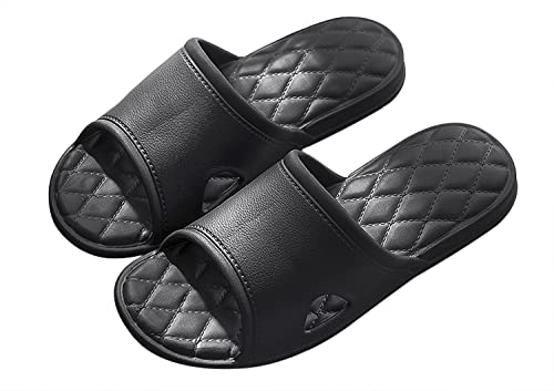 Unisex Casual Indoor Shower Bath Slippers Non-Slip Home Bathroom Sandals Shoes