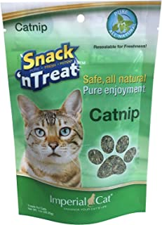 product image for Imperial Cat Snack 'N Treats, Pure, All-Natural Catnip, 1-Ounce