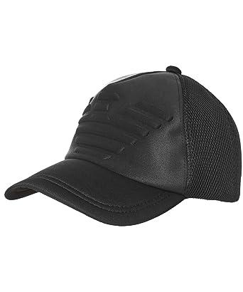 60196287955 Armani Hommes Casquette de Baseball Logo gaufré Noir Une Taille  Amazon.fr   Vêtements et accessoires