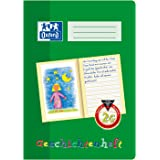 Oxford 100050092 Story Pad / A4 / Line Style 2G Class 2 Learning System / 16 Sheets / 90 g/m² Optic Paper / Pack of 10 / Green