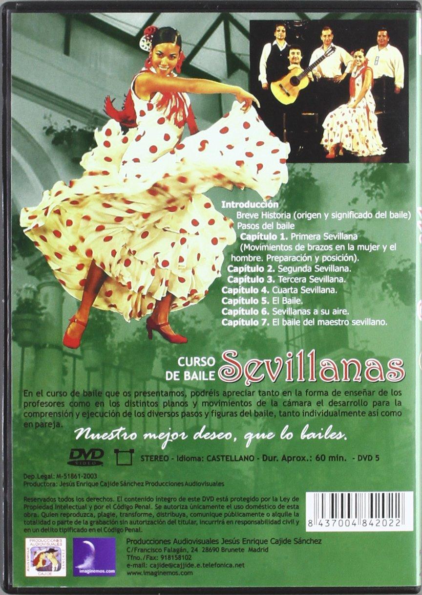 Curso de Baile-Sevillanas [Alemania] [DVD]: Amazon.es ...