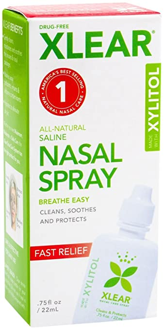 Xlear Saline Nasal Spray with Xylitol - 0.75 oz