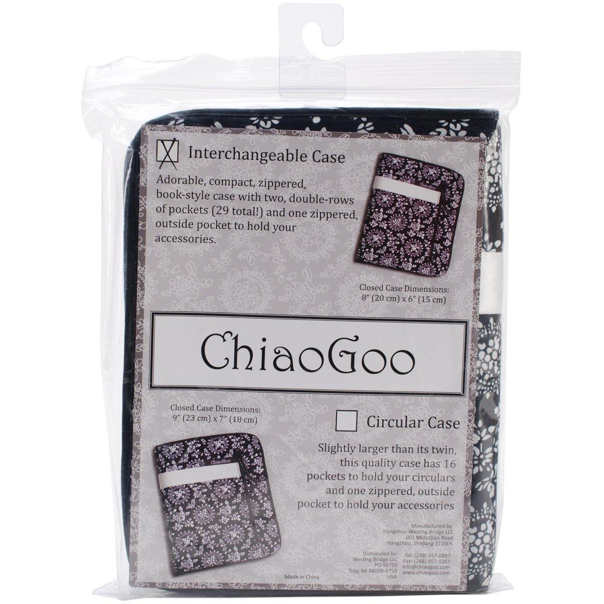 ChiaoGoo White Ribbon Interchangeable Needle Case by ChiaoGoo (Image #1)