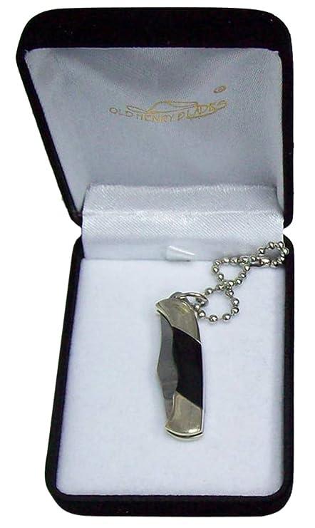 Amazon.com: 2.25 inch, Mini bolsillo Cuchillo Llavero con ...