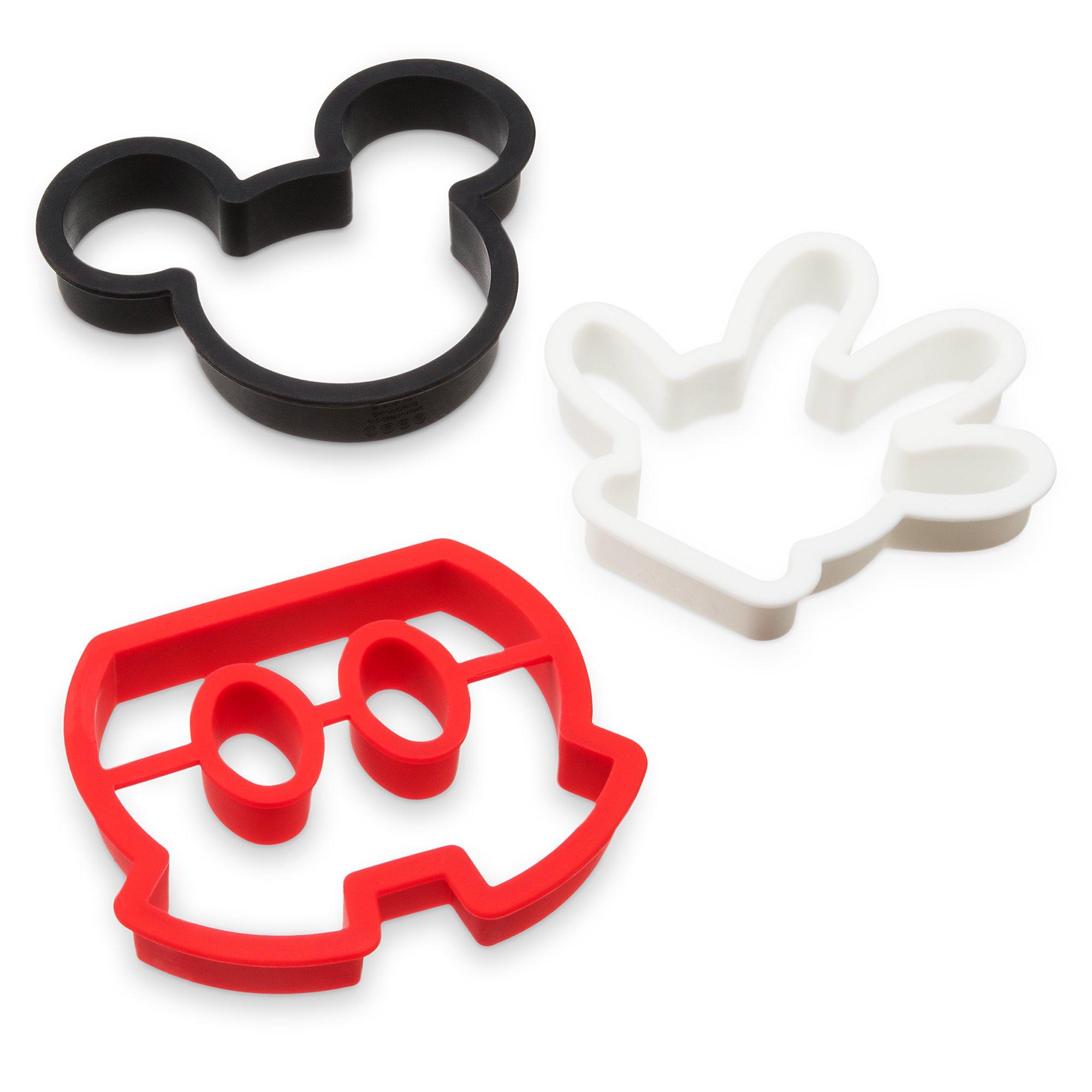 Mickey Mouse Silicone Breakfast Mold Set - Disney Eats