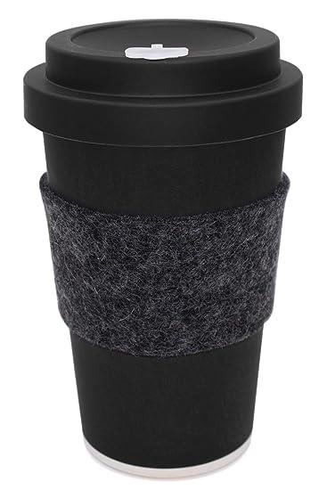 Heyholi Coffee To Go Becher Aus Bambus Mit Schraubdeckel Woodcup