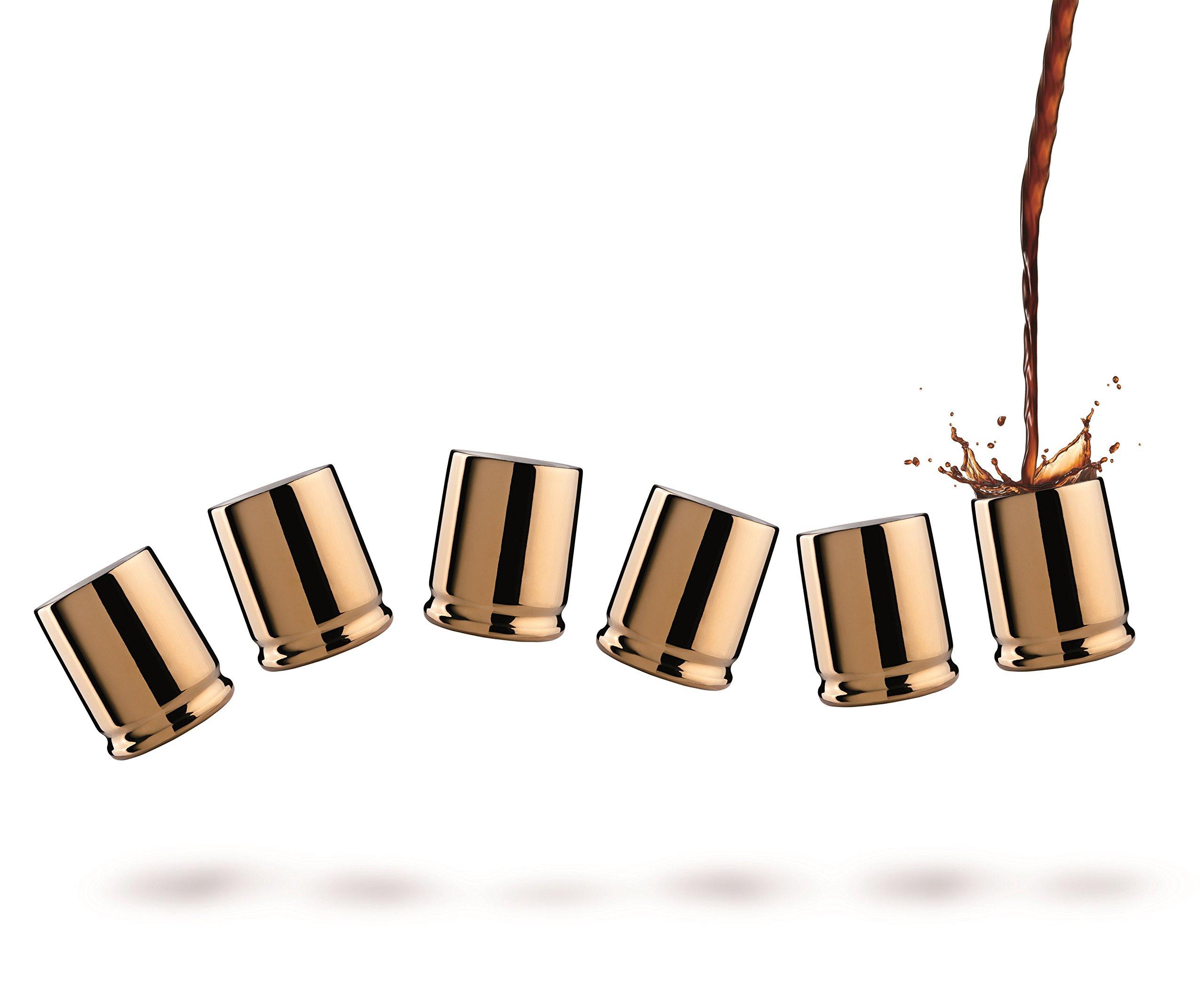 Viceversa:''Coffee Shots'' Set of 6 Coffee Cups [ Italian Import ]