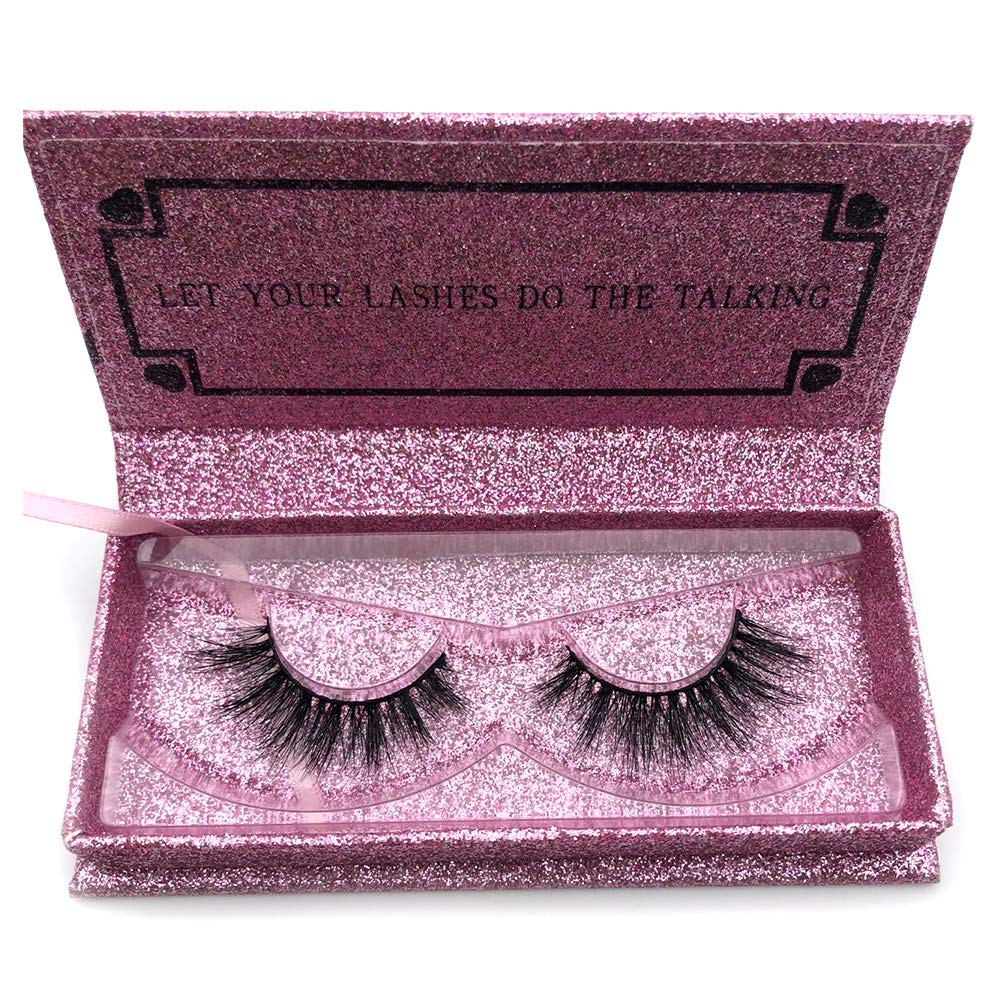 4f9056ba18b Amazon.com : Mikiwi Eyelashes DA008 Natural Thin 3D Mink Lashes Luxury Hand  Made Mink Eyelashes Medium Volume Cruelty Free Mink False Eyelashes Upper  Lashes ...