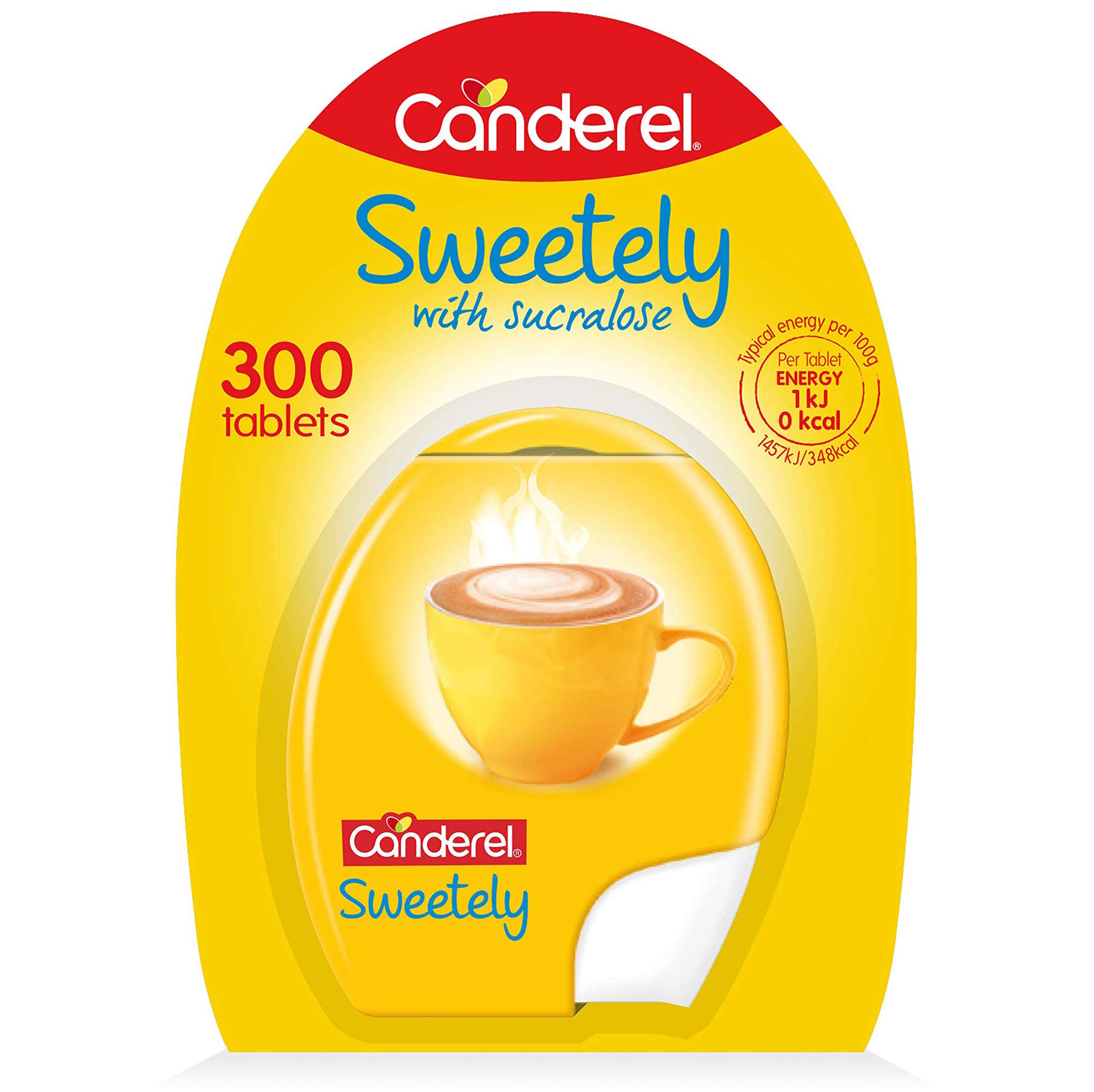 Canderel Sweetely 300 Tablets Dispenser Pack