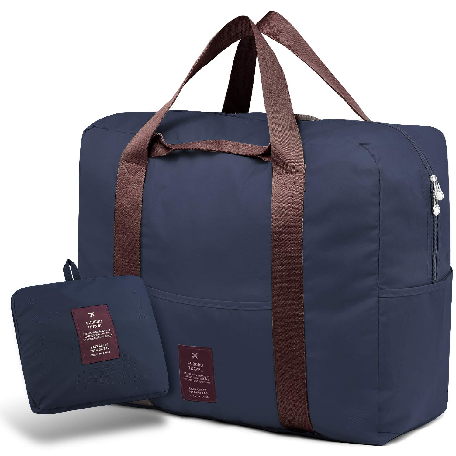 631806c45c SPAHER Travel Duffle Bag Foldable Packable Lightweight Holdall Waterproof  Handbag Shoulder Sling Clothes Packing Organiser Storage Carrying Suitcase  for ...