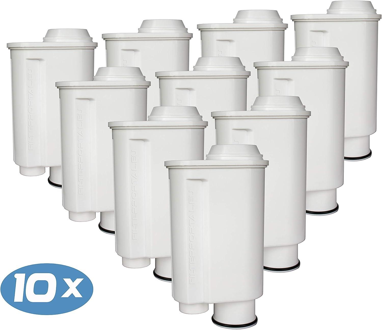 Juego de 10 filtros de agua para cafetera espresso (compatible con ...
