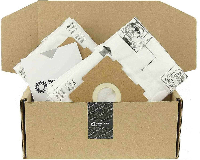 8 Bolsas de alta filtración + 2 microfiltros para aspiradores Ufesa Activa: Amazon.es: Hogar