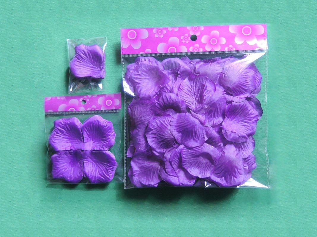 Demarkt 1000 PCS banquete de boda la tela de seda de la flor de los p/étalos de Rose decoraci/ón de la tabla