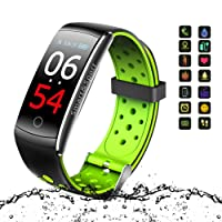 Fitness Tracker, Vivicool Orologio Fitness Activity Tracker Cardio Impermeabile IP68 Bluetooth 4.0 Smartband Bracciale Braccialetto Donna Uomo Fitness Sport Watch per iOS Android Smartphones
