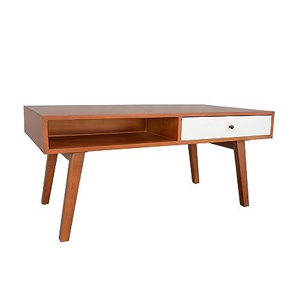 e2688ec3e6d40 Amazon.com  Porthos Home Mid-Century Mansfield Coffee Table