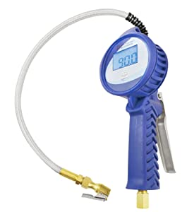 Astro 3018 Digital Tire Pressure Gauge and Inflator with Stainless Steel Braided Hose