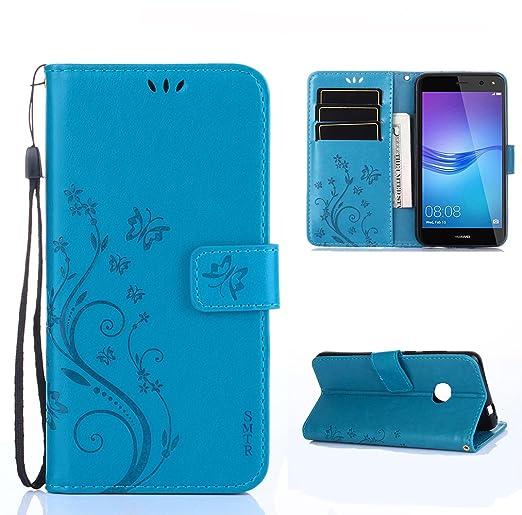 2 opinioni per SMTR Wallet Cover Per Huawei Nova Young, Custodia Per Huawei Nova Young- Retro