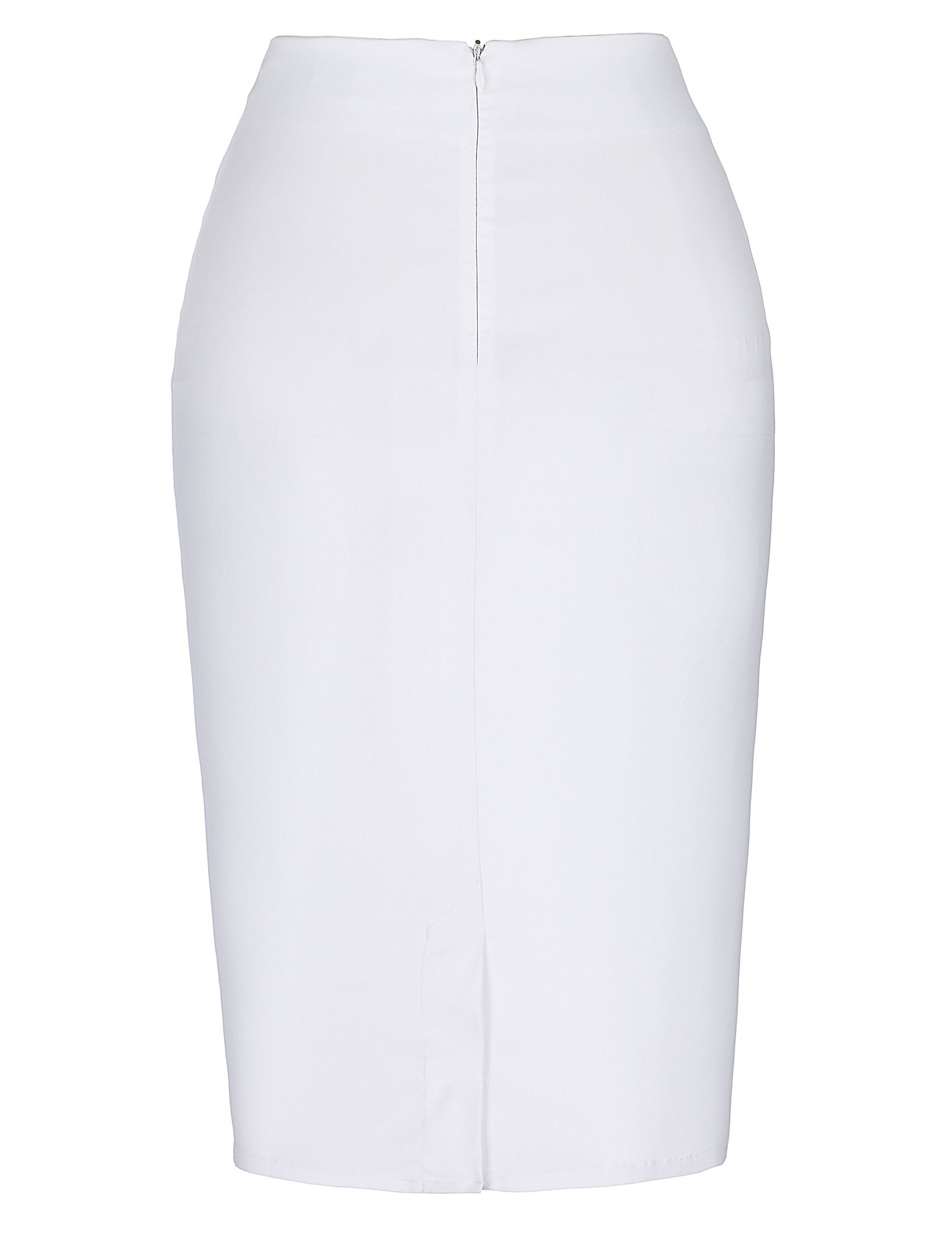 Kate Kasin Retro Elegant Hips Wrapped Knee Length Pencil Skirt M KK268-2