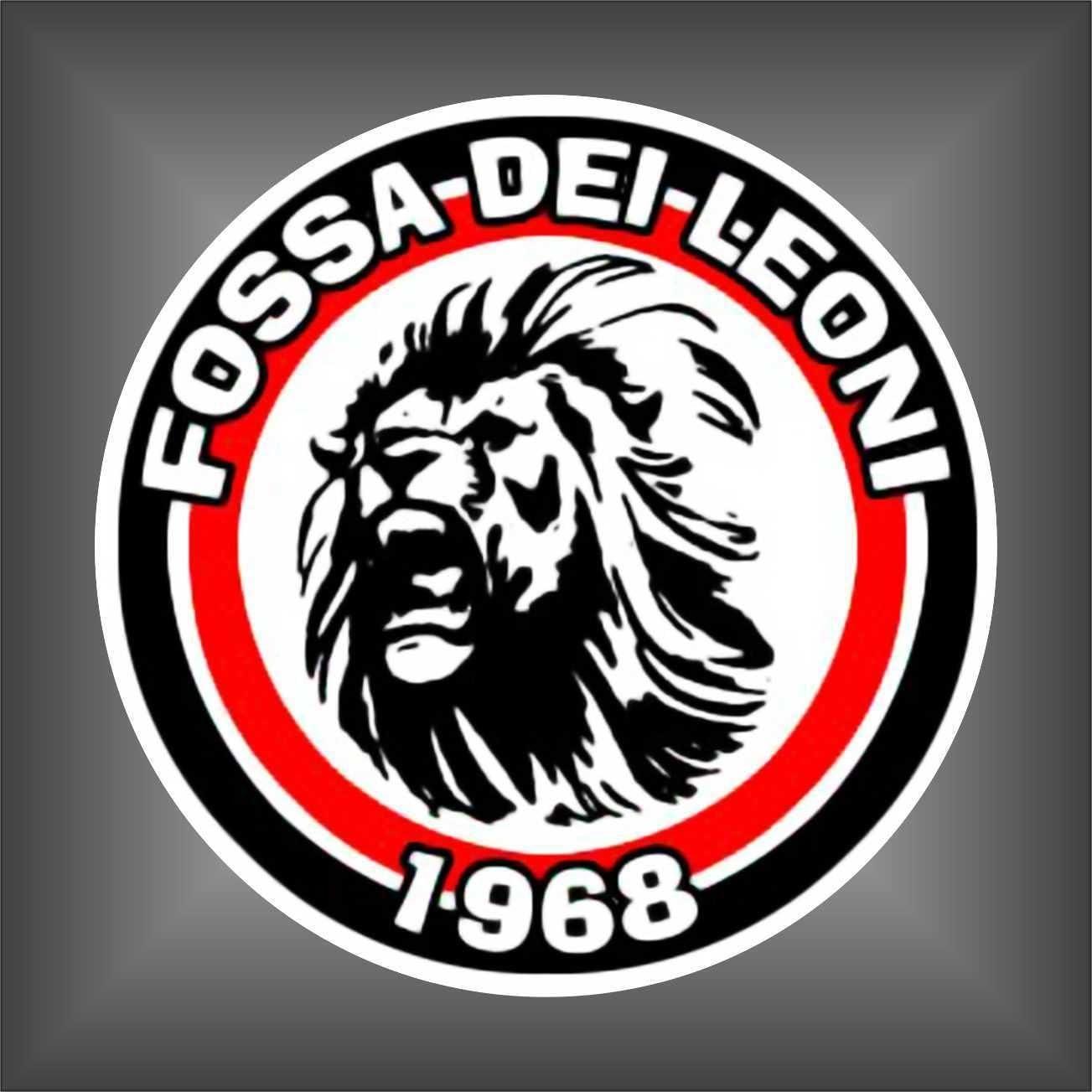 Adesivo Brigate Rossonere Milan Ultras serie A sticker decal