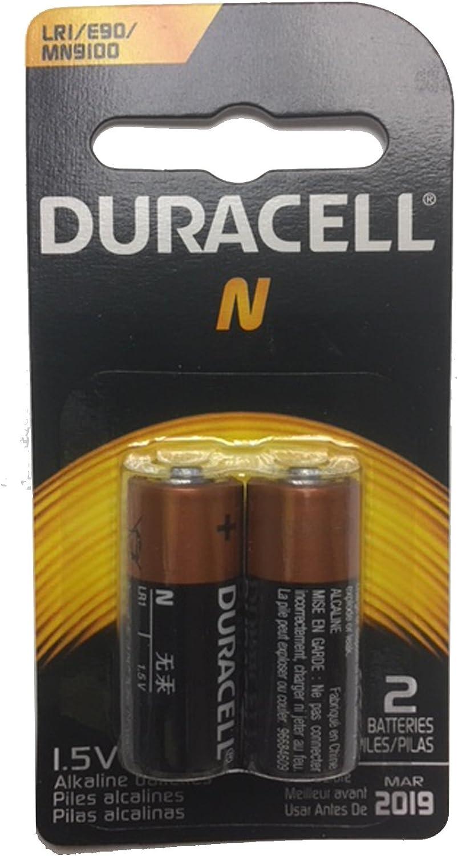 Amazon Com Duracell Alkaline 1 5v Battery Size N 2 Ea Electronics