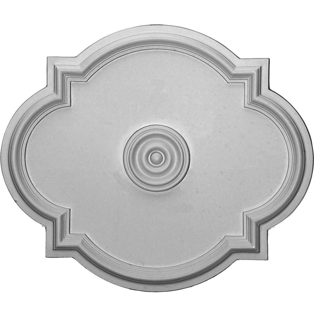 Ekena Millwork CM24WA 24-Inch x 20 1/2-Inch x 1 1/8-Inch Waltz Ceiling Medallion