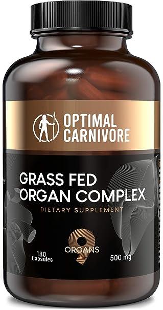 Amazon.com: Órgano alimentado con hierba, órganos de carne ...