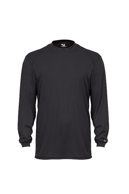 268f7a5725c6 Amazon.com  Badger Sportswear Men s B-Dry Long Sleeve Tee  Sports ...
