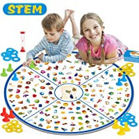 REMOKING Board Game,Educational Detective Card Game,Kids Memory Game Tabletop Game,STEM Matching Game Toys for Kids Boys Girls 3,4,5,6,7,8 Years Old,Best Family Party ,Birthday Gift