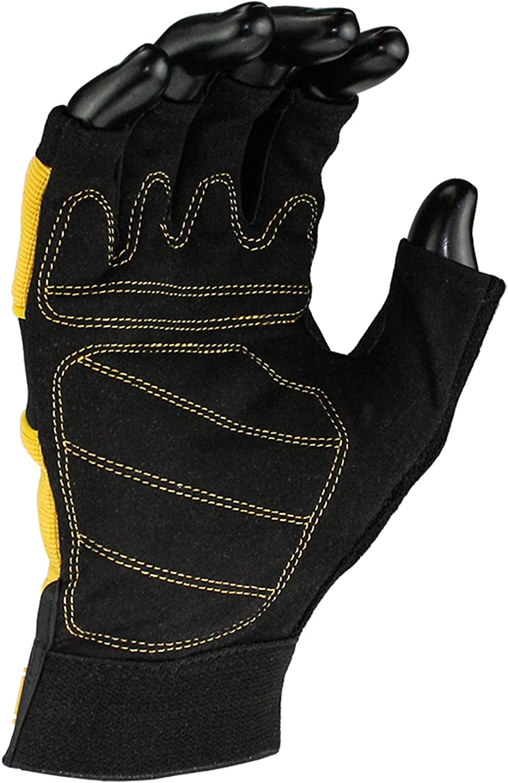 Dewalt Mens DeWalt Tough Fingerless Performance Gloves