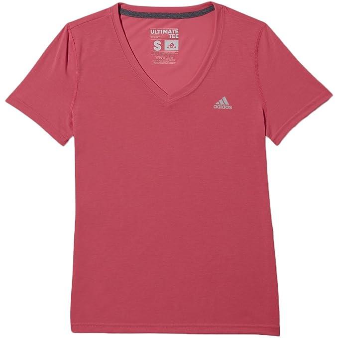 Amazon.com  adidas Sport Performance Ultimate V-Neck Tee Shirt ... e01fd087b