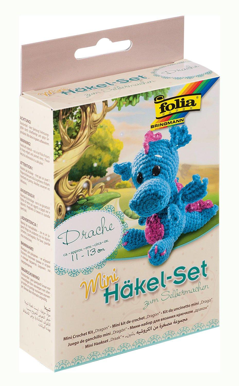 Folia 23903 Mini Häkelset Affe Ca 13 Cm Amazonde Spielzeug