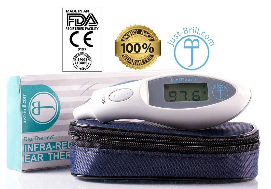 Amazon.com : Termómetro digital de bebé - Temperatura Interna precisa para niños, niñas, bebés, niños mayores y adultos - Láser infrarrojo Lee temperatura ...