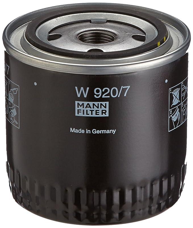 Hydraulikfilter geeignet f/ür Automatikgetriebe F/ür Nutzfahrzeuge Original MANN-FILTER /Ölfilter W 920