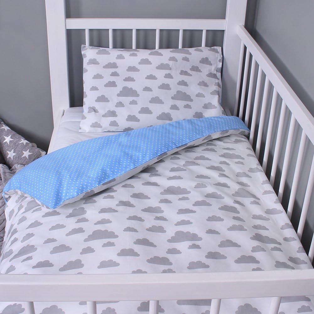 Lulando Juego de cama infantil 2 piezas 1 Unidad 350 g almohada y funda n/órdica