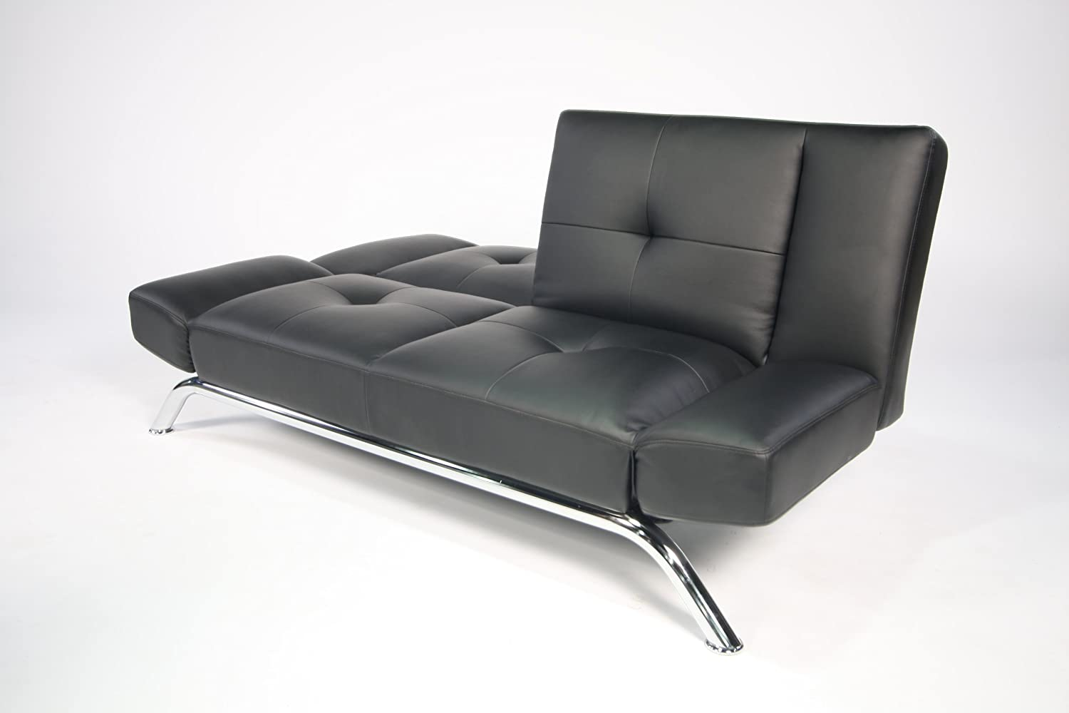 Amazon DHP Emma Convertible Sleeper Futon Black Kitchen