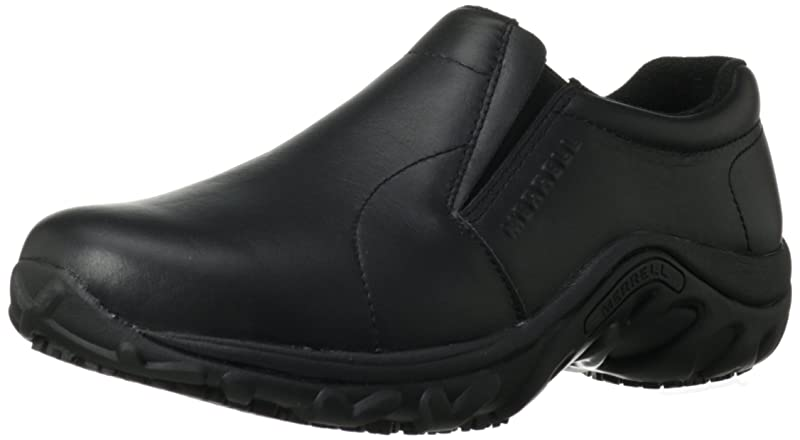 Merrell Men's Jungle Moc Pro Grip Slip-Resistant Work Shoe
