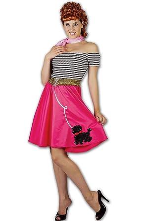 DIGITAL SPOT Disfraz para Mujer de los años 50: Amazon.es: Ropa y ...