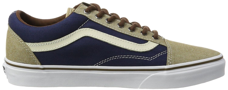 Vans Unisex Old Skool Classic Skate Shoes B01NCK2TU4 / 9.5 B(M) US Women / B01NCK2TU4 8 D(M) US Men|Dress Blues/Khaki aa146e