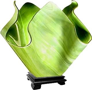 product image for Jezebel Radiance VALA-FP16-GRA Flame Vase Lamp, Large, Grass Green