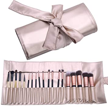 Amazon.com: cepillo para polvo de maquillaje organizador de ...