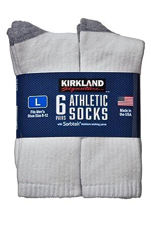 5e9a36855 Kirkland SignatureTM Mens Athletic Sock 6-Pack