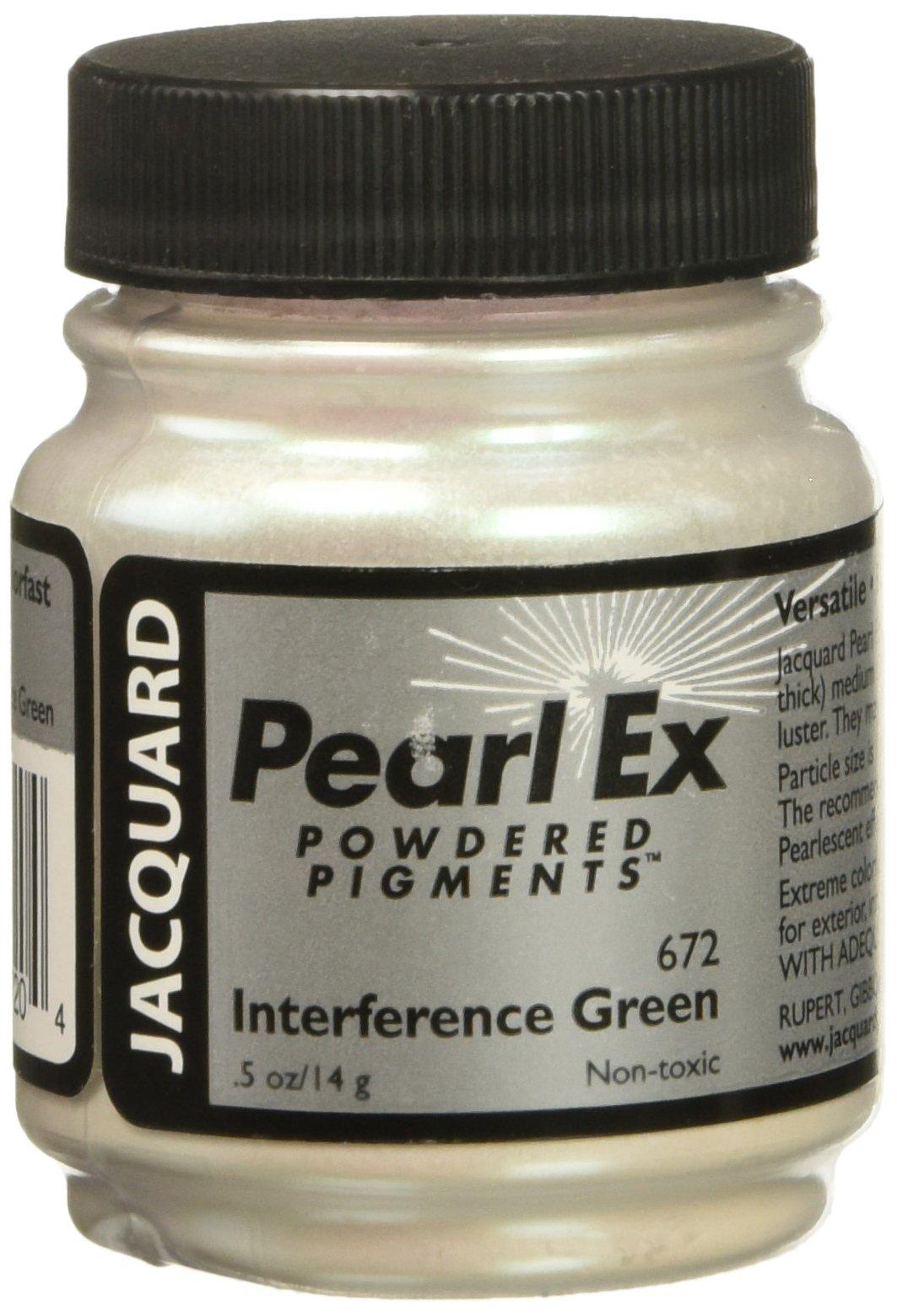 Pigmento Jacquard Pearl Ex 14gr. Interferencia Verde